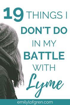 Lyme Disease and Chronic Illness