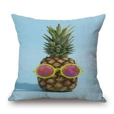 Preorder 18'' Square Pineapple Pillow Covers