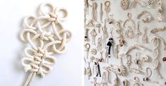 Artist Windy Chien discovers bliss in performing daily rituals by creating unique knots every day for her project, The Year of Knots.