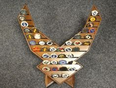 Air Force Logo Coin Display. Kaleb needs this! Too many coins already to keep up with! <3