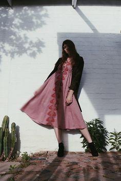 Folk Festival, Vintage Embroidery, Coat Dress, Festival Fashion, Indie, Kimono Top, Bohemian, Romantic, Dresses