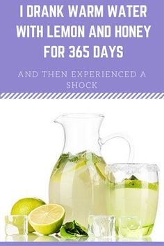 I DRANK WARM WATER WITH LEMON AND HONEY FOR 365 DAYS, AND THEN EXPERIENCED A SHOCK