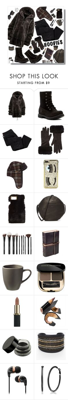 """""""Hoodies"""" by marionmeyer ❤ liked on Polyvore featuring Timberland, Avon, Barneys New York, Chiara Ferragni, Charlotte Russe, BAGGU, Sephora Collection, West Elm, Christian Dior and Dolce&Gabbana"""
