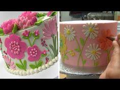 Amazing cake decorating videos - Flower cake compilation 😜😜😜 - YouTube