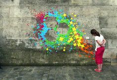origami installations by Madamoiselle Maurice