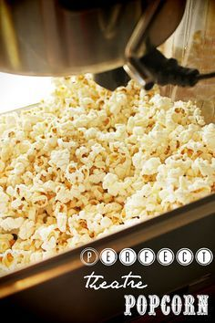 Perfect, Easy From Scratch Movie Theatre Popcorn