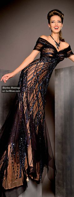 Blanka Matragi – Glamour Dress - Parsimonious Tutorial and Ideas Beautiful Gowns, Beautiful Outfits, Gorgeous Dress, Elegant Dresses, Pretty Dresses, Crazy Dresses, Looks Style, Dress To Impress, High Fashion