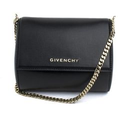 GIVENCHY Micro Pandora Box Leather Clutch ($1,345) ❤ liked on Polyvore featuring bags, handbags, clutches, 100 leather handbags, box clutch, genuine leather handbags, real leather handbags and real leather purses