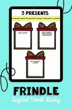 Frindle Lapbook - perfect for third or fourth graders needing reading practice in your classroom or digitally.