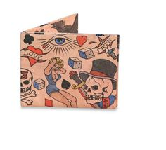 Might wallet - tattoo, Dupont Tyvek wallet by Dynomighty.