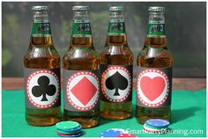 Casino Beer Labels Smart Party Planning