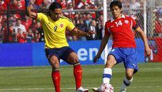 Colombia vs Chile en vivo: http://www.envivofutbol.tv/2015/11/ver-partido-chile-vs-colombia-en-vivo.html