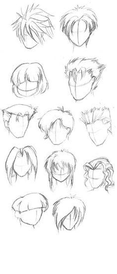 Hair Styles For Kids Manga hair painting . Drawing Male Hair, Guy Drawing, Manga Drawing, Character Drawing, Drawing Tips, Character Design, Drawing Tutorials, Anime Hair Drawing, Hair Styles Drawing