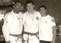 Rickson Gracie, Henry Akins and Kron Gracie