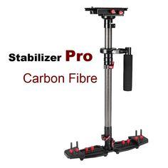 Professional Carbon Fiber Video Steadicam Handheld Stabilizer For Canon Nikon Sony etc. DSLR Camera Camcorder Stabilizing System