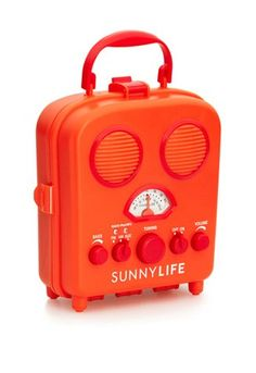 Retro Radio - water resistant, iPod compatible. Perfect for the beach!