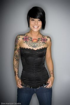 Tattooed Girls At Their Best, (18 Pics) Number 10 Though!! - Waboosh Live