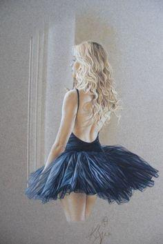 Rosemarie ~ Kay Boyce ~ British – Graffiti World Ballerina Painting, Ballerina Art, Ballet Art, Ballet Dancers, Ballet Drawings, Dancing Drawings, Dance Paintings, Ballet Beautiful, Dance Photos