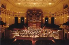 Het Concertgebouw Amsterdam is considered one of the finest concert halls in the world.