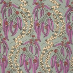 Anna Maria Horner - Pretty Potent Rayon - Eucalyptus in Ruby