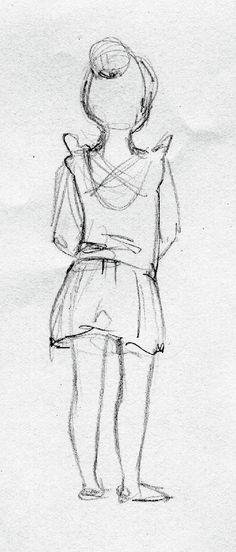Linda Olafsdottir - Illustration & Fine art: Sketches of little ballerinas