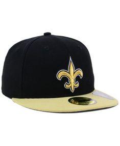 82fe8beb639d6 New Era New Orleans Saints Team Basic 59FIFTY Fitted Cap - Black 7