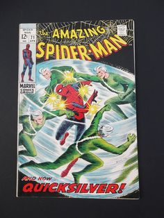 Amazing Spider-Man #71! Silver Age! 1969! Quicksilver! Marvel! Stan Lee! Romita!