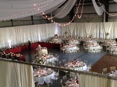 Image result for wedding decorations in a metal building