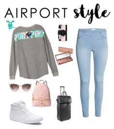 """""""YAAAAASSS!!!!"""" by cynti2003-10 ❤ liked on Polyvore featuring Vans, MICHAEL Michael Kors, STELLA McCARTNEY, Gucci, Kate Spade, Urban Decay, GetTheLook and airportstyle"""