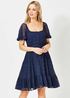 French Connection Broidery Dress