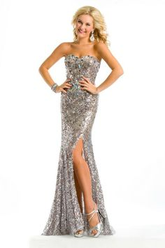 Sparkly Mardi Gras gown at Lemon Drop in Broussard.  http://www.lemondroppromshop.com/
