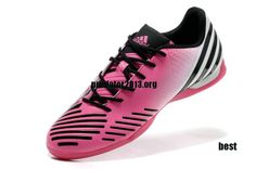 super popular b02d3 8ba84 Cheap Predators Boots Adidas LZ IC Clear Olympic Pink White Black  Pink   Womens  Sneakers