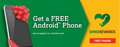 Gone are the days when mobile carriers give you free phones with new or upgraded activation, or are they? I found this deal for totally Free Android SmartPhone with a new or upgrade 2-year activation.