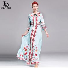 Autumn Dress Women's Long Sleeve Embroidery Decorative Knee-Length Dress Tag a friend who would love this! http://www.storeglum.com/product/new-fashion-2016-designer-autumn-dress-womens-long-sleeve-embroidery-decorative-knee-length-dress-size-s-l #shop #beauty #Woman's fashion #Products