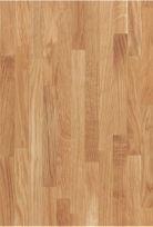 Eiken Herregards Silkwood voorgeolied. Materiaal voor badkamermeubilair en woonkamermeubilair. Lichter van kleur dan Eiken Silkwood voorgeolied, subtieler. Warme kleur.