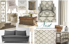 Neutral Bliss Living Room eDesign