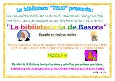 """Uno de los mejores cuentacuentos que hemos podido tener en la Biblioteca Telo: """"La bibliotecaria de Basora"""". Tuvimos nuestra jaima, nuestro té y nuestros dulces árabes, gracias a las madres marroquíes del colegio."""