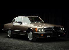 Alleen dan liever nog in het mintgroen.. 1990 Mercedes-Benz 560SL