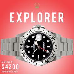 Rolex Explorer - on sale now click >>>> http://www.randjwatchco.com/product/rolex-explorer    email us at sales@randjwatchco.com