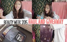 BEAUTY WEEK HAUL + GIVEAWAY