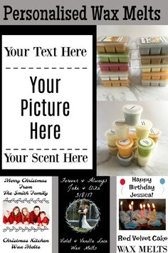 Custom wax melts make great gifts, stocking stuffers, Christmas baskets, and as an add on to a holiday card.  Free worldwide shipping with minimum purchase. ~~~Free worldwide shipping offer on now! #wax #melts #soy #home #candle #oil #burner #scentsy #yankee #bar #tealight #pot #tart #shot #clam #clamshell #fragrance #shell #wedding #house #warming #light #christmas #custom #personalized #personalised #card #stocking #stuffer