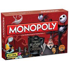 Monopoly Pesadilla antes de Navidad - Inglés
