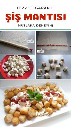 Skewers Ravioli Recipe How? people spit ravioli recipe in the book of illustrated lectures and photos of attempting here. Ravioli Recipe, Dumpling Recipe, Turkish Delight, Iftar, Turkish Recipes, Dessert Recipes, Desserts, Recipies, Brunch