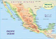 nice Map of Monterrey