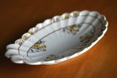 Copeland Spode pickle dish buttercup by WoodenStoolVintage, $44.69
