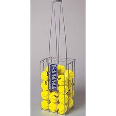Ballhopper Hoppette by Ballhopper. $18.95. For the recreational tennis player. The Hoppette has all the design and construction features of the larger models, plus it's small enough to fit in clubhouse lockers. Coated in green PVC for added durability. Capacity: 50 balls. Silver.