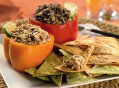 Cabot Habanero Cheddar and Black Bean Spread, one of my favorite party apps!