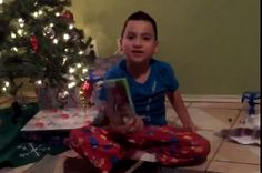 Kid throws tantrum after getting wrong video game for Christmas