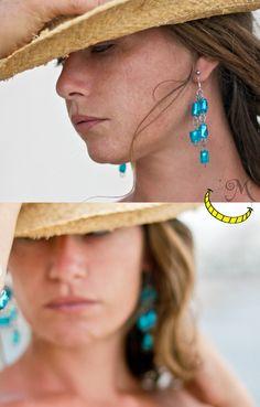 http://it.dawanda.com/product/74283883-PETLovE-orecchini  orecchini earrings pendientes plastica riciclo riuso reuse recycle reciclado fatto a mano handmade made in italy artigianato italiano Malice's Craftland