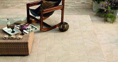 Stonetrack | Gresie si faianta, parchet lemn stratificat si piatra naturala Gada Ceramic Outdoor Tiles, Floor Chair, Ceramics, Stone, Tile Ideas, Furniture, Track, Home Decor, Ceramica